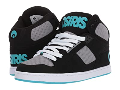 Osiris NYC 83 Classic (Black/Grey/Cyan) Men