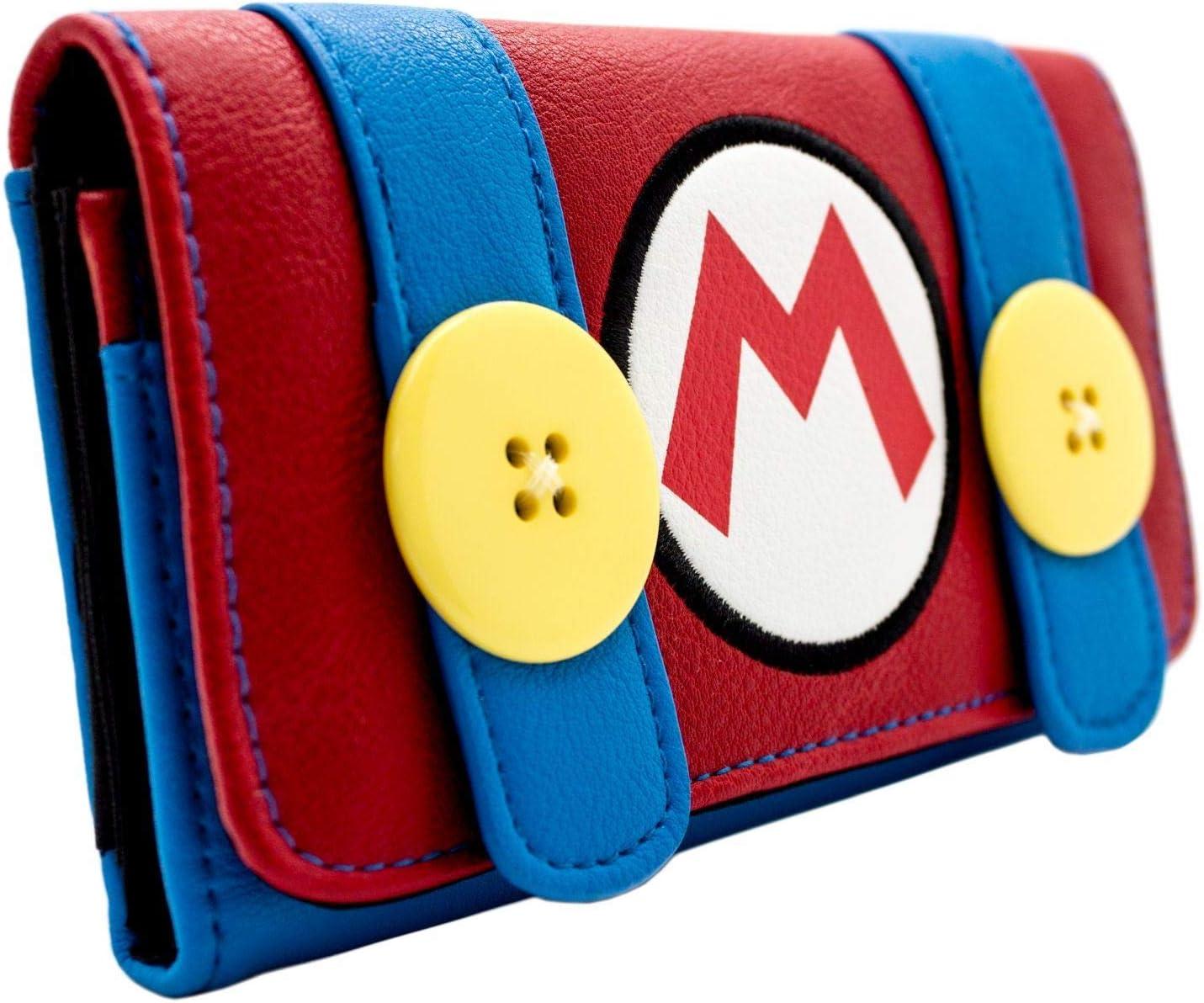 Cartera de Super Mario Bros. Traje de Fontanero Rojo