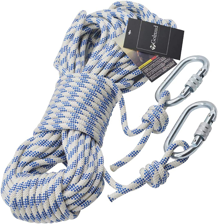 LIZIPYS Einfachseile Outdoor-Kletterseil Nylon-Sicherheitsseil Kletterseil Lifeline Rope Überleben liefert 8MM B07MJTTQM6  Sehr gute Farbe