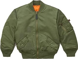 Boys' Little MA-1 Bomber Jacket
