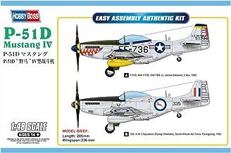 Hobbyboss 85806 1:48-P-51D Mustang IV Fighter