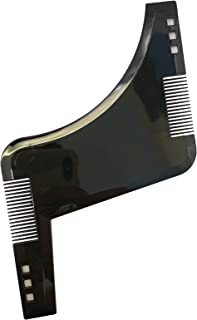 The beard shaper & Styling Tool with inbuilt Comb for Perfect line up & Edging, use with a Beard Trimmer or Razor to Style Your Beard & Facial Hair, Premium Quality Product