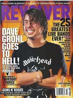 REVOLVER MAGAZINE March 2004 Dave Grohl Nirvana Slayer Slipknot Led Zeppelin Metallica AC/DC AFI Guns n Roses (Revolver)