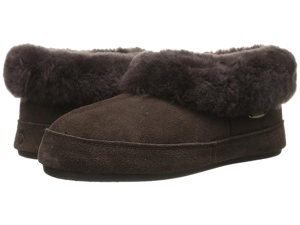 Acorn Oh Ewe II (Coffee Bean) Women's Slippers, Brown