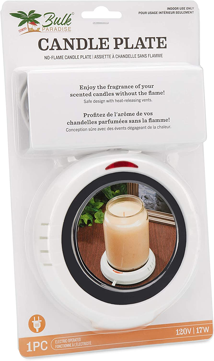 BULK PARADISE Large Jar Warmer Without Safely Super-cheap Max 75% OFF Releases a Scents