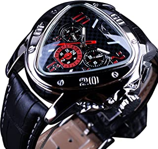 Jaragar Fashion Sport Triangle Racing Design Automatic Men Wrist Watch