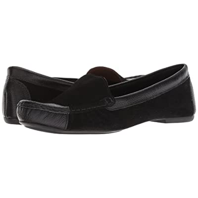 French Sole Allure2 Driver (Black Suede) Women