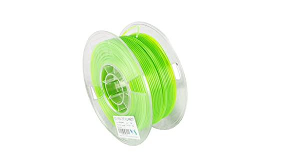 Compatible with Ultimaker//Airwolf//Luzbot 3D printer Green Guangzhou Yousu Plastic Technology Co 2.85 mm 1kg YS YS-PETG-GN-2.85-1.0 PETG Filament Limited