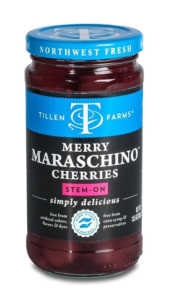Tillen Farms - Maraschino Cherries - 14 oz (Pack of 6)