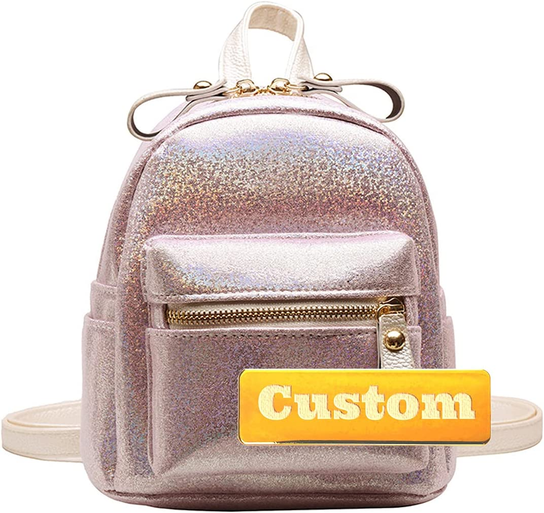 XSGZ Custom Name Travel Sale special price Bag for Handbag Backpack P Leather Women Max 67% OFF