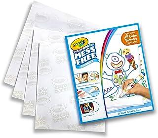 Crayola - Recharge de feuilles blanches Color Wonder - Loisir créatif - Color Wonder - à partir de 3 ans - Jeu de dessin e...