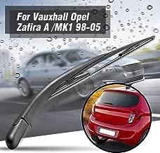 KeoKasu - Rear Window Wiper Arm And Blade Set Black Replacement Fit For/Opel Zafira A 98-05 MK1 171324407768 Auto Accessories