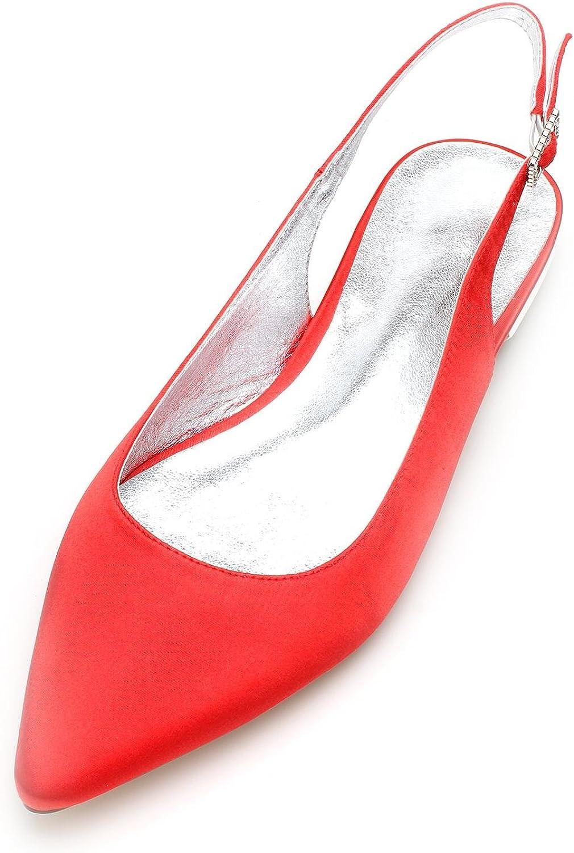 Elobaby Frauen Hochzeit Schuhe Party & Abend Sommer Sommer Sommer Sandale Elfenbein Geschlossene Zehe (1,8 cm Heel)  f412cb