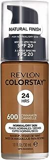 Revlon ColorStay Liquid Foundation For Normal/dry Skin, SPF 20, Cinnamon, 1 Fl Oz