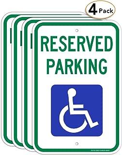 handicap picture sign