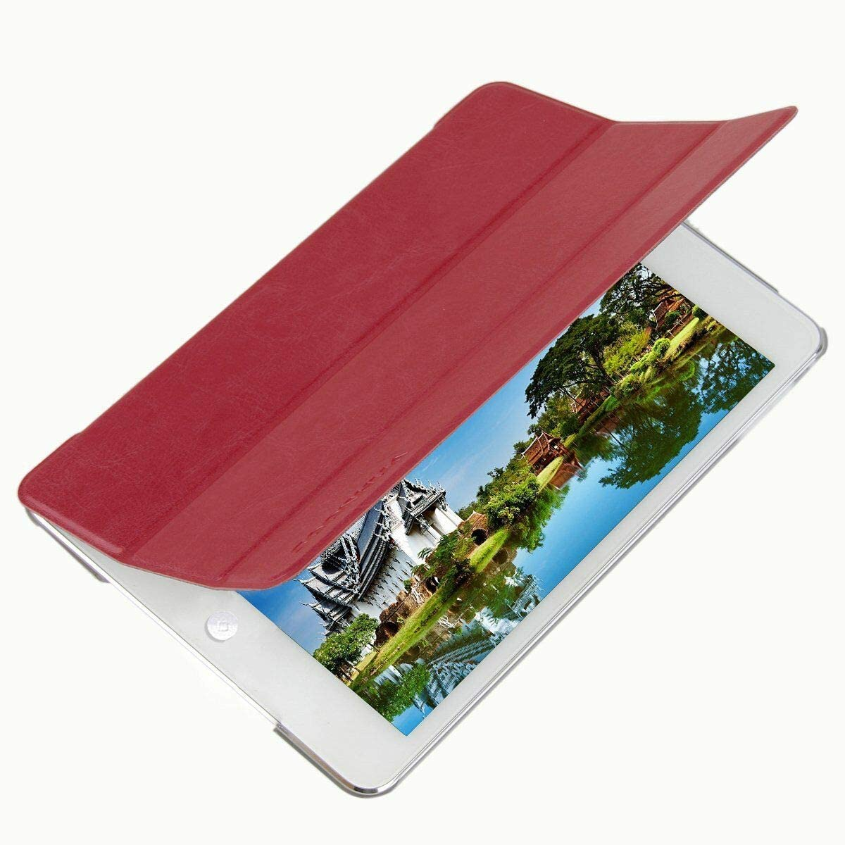 SOONHUA Translated Leather Case Cover PU Ultra for Pad I Sim Min Stand Over item handling