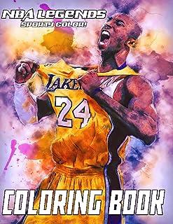 Sporty Color! - NBA Legends Coloring Book