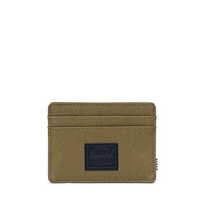 Herschel Supply Co. Charlie RFID (Khaki Green) Wallet Handbags