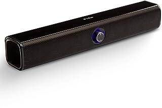 Barra de Sonido Altavoz PC Bluetooth, Altavoces PC Sobremesa Inalambrico con Conexión USB, True Wireless Pairing (TWS) Son...