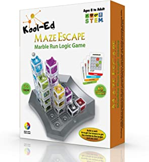Kool-Ed -Maze Escape the best Gravity Maze Marble Run Brain Teaser Puzzle. STEM Educational Games Gives Hours of Fun While...