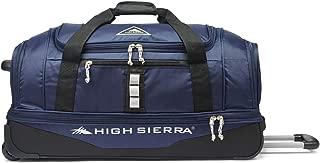 High Sierra Pathway 28-Inch Wheeled Drop-Bottom Duffel - Extra-large Rolling Duffel Bag with Wheels - Men's Wheeled Duffel Bag with Retractable Handle