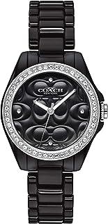 Coach Women's Black Dial Black Ceramic Watch - 14503255
