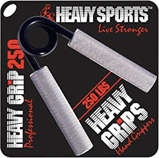 Heavy Grips - Hand Grippers for Beginners to Professionals - 100-350 lbs Resistance