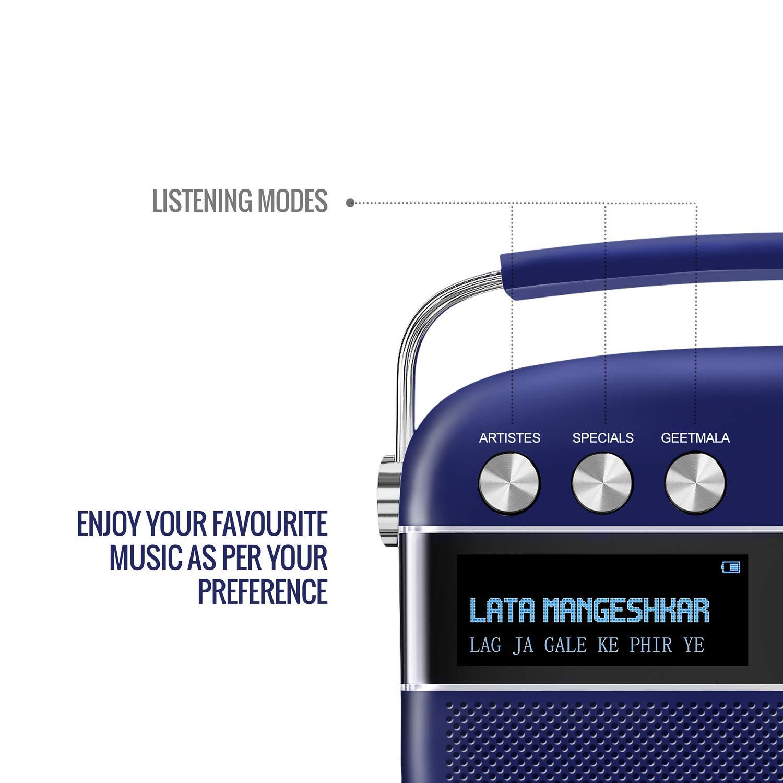 Royal Blue Saregama Carvaan Premium Portable Digital Music Player