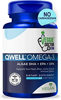Omega 3 Better Than Fish Oil Omega 3 6 9 - Vegan Omega 3 Fatty Acid Supplements - No Carrageenan – Algae Omega 3 Supplemen...
