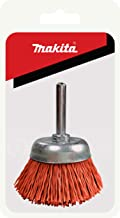 Makita 1 Piece – 2 Inch Nylon Cup Brush For Drills – Light-Duty Conditioning..