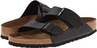 Birkenstock Unisex Arizona Black Birko-flor Sandals - 9-9.5 B(M) US Women/7-7.5 D(M) US Men