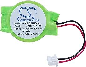 Cameron Sino 200mAh Battery for DELL Latitude E6320, Latitude E6420, Latitude E6430, Latitude E6520, Latitude E7240, Latitude X1, Precision M4600, Precision M6600