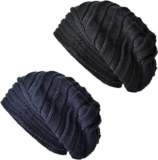 Womens Lightweight Slouchy Beanie For Women Knit Hat Wool Skully Cap