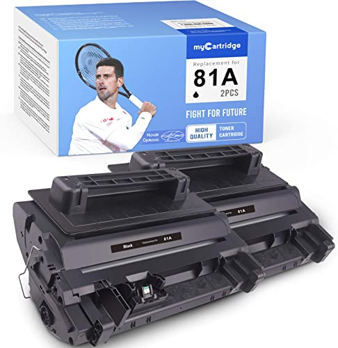 new arrival MYCARTRIDGE lowest Compatible Toner Cartridge Replacement for HP high quality CF281A 81A Work with Laserjet Enterprise M604n M606dn M604dn M605dn M605n M605x M606x M603z M603f M630dn (2 Black) outlet sale