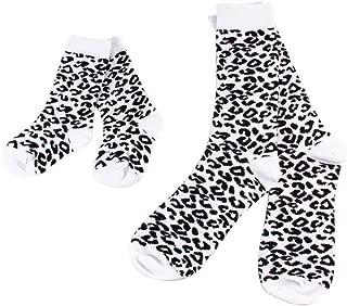 Parent-Child Leopard Socks Cotton Mommy Baby Family Socks JB730
