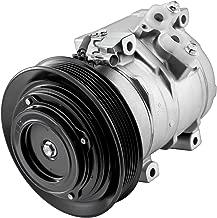 Mophorn CO 27000C 8832002120 471-1407 471-0407 883200212084 Universal Air Conditioner AC Compressor for 2003-2008 Toyota Corolla Matrix 1.8L 77391 78391
