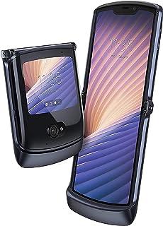 Motorola Razr 5G (2020) 256GB ROM + 8GB RAM Factory Unlocked Flip Android Smartphone (Polished Graphite) - International V...