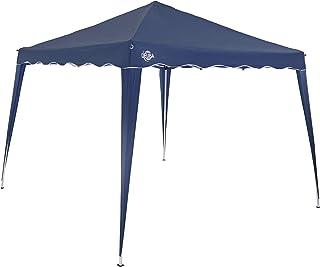 comprar comparacion Deuba Pabellon de Jardin cenador Capri Azul 3x3 m Carpa Plegable de jardín Impermeable y Pop Up para Eventos Camping