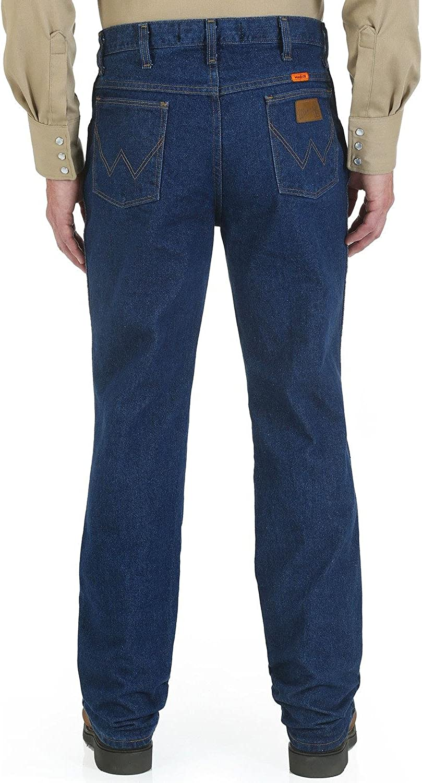 Wrangler discount Riggs Workwear Men's Award FR Resistant Slim Fit Jean Flame