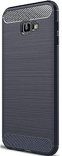 Tianqin Samsung Galaxy J4 Core/J4plus Funda, Ultra Delgado Ligero Amortiguación Silicona Anti Deslizamiento Resistente los Arañazos Cubierta Protectora Caso para Galaxy J4 Core/J4 Plus Case - Azul