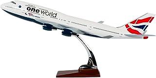 TANG DYNASTY 47CM British Airways ブリティッシュ・エアウェイズ ボーイング B747 高品質樹脂飛行機プレーン模型 おもちゃ