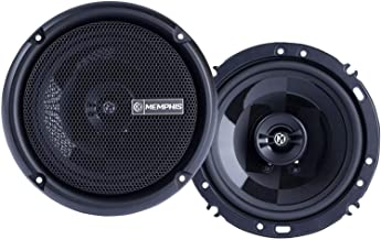 $84 » Memphis Audio PRX602 Power Reference 6.5 Inch 50 Watt RMS 100 Watt Peak Power Car Audio Coaxial Speaker System