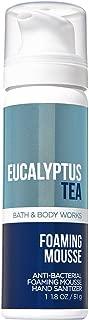 Bath and Body Works Eucalyptus Tea Anti-Bacterial Foaming Hand Sanitizer 1.8 Ounce