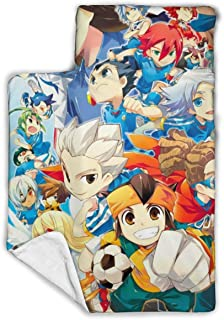 """Other1 Child's Sleeping Bag with Blanket and Pillow Inspired by Inazuma Anime Eleven Comfortable Flannel Sleeping Cushion Child Nap Mat 43""""""""X21"""