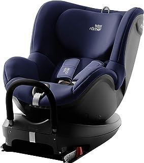 Britax Römer Reboarder Kindersitz 0 - 4 Jahre I 0 - 18 kg I DUALFIX 2 R Autositz Drehbar Isofix Gruppe 0/1 I Moonlight Blue