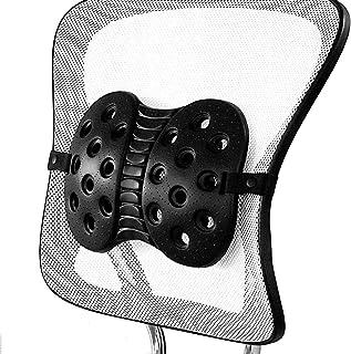 BackJoy Perfecte pasvorm lendensteun met verstelbare riem, ontworpen voor ruggengraat en onderrugpijn, houdingscorrectie, ...