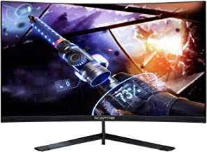 "Sceptre Curved 27"" 144Hz Gaming LED Monitor Frameless AMD Freesync Premium.."