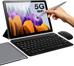 5G WiFi Tablet 10 Zoll Android 10.0 FHD 4GB RAM 64GB/128 ROM Erweiterbar 1.6Ghz..