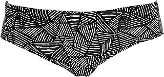 Funky Trunks Men's Swimming Trunks Black Widow Colourful Training Swimming Trunks