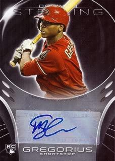 2013 Bowman Sterling #BSAR-DG Didi Gregorius Certified Autograph Baseball Rookie Card